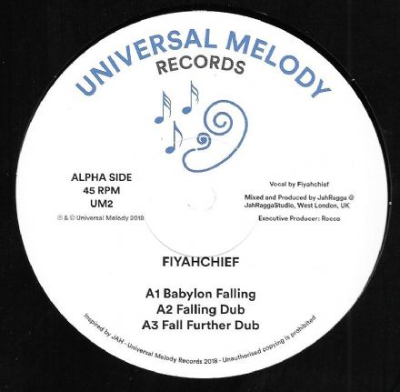 Fiyahchief - Babylon Falling / Siriana T meets Doktor Lond - Conqueror (Universal Melody) 12""